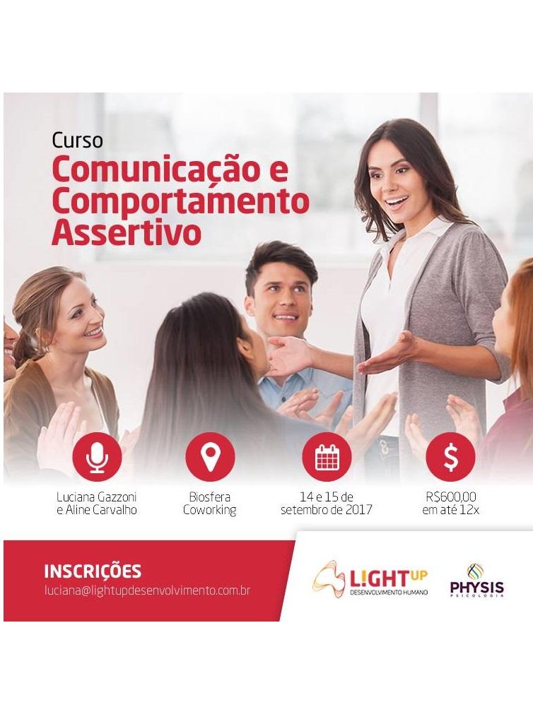 Curso Comunicação e Comportamento Assertivo Biosfera Coworking Curitiba