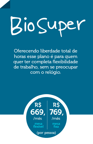 Coworking Curitiba Plano Biosfera Super