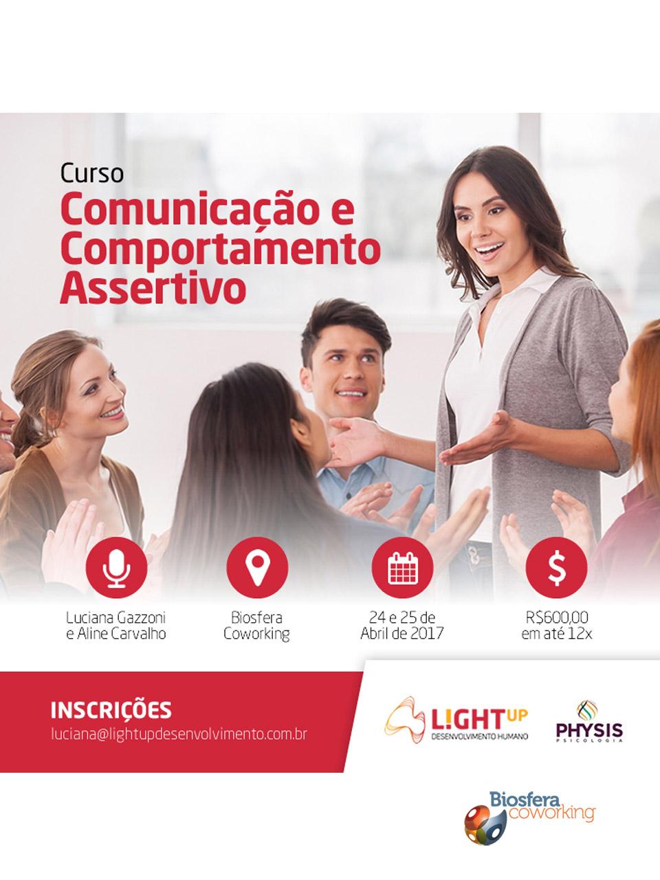 Curso Comunicação e Comportamento Assertivo
