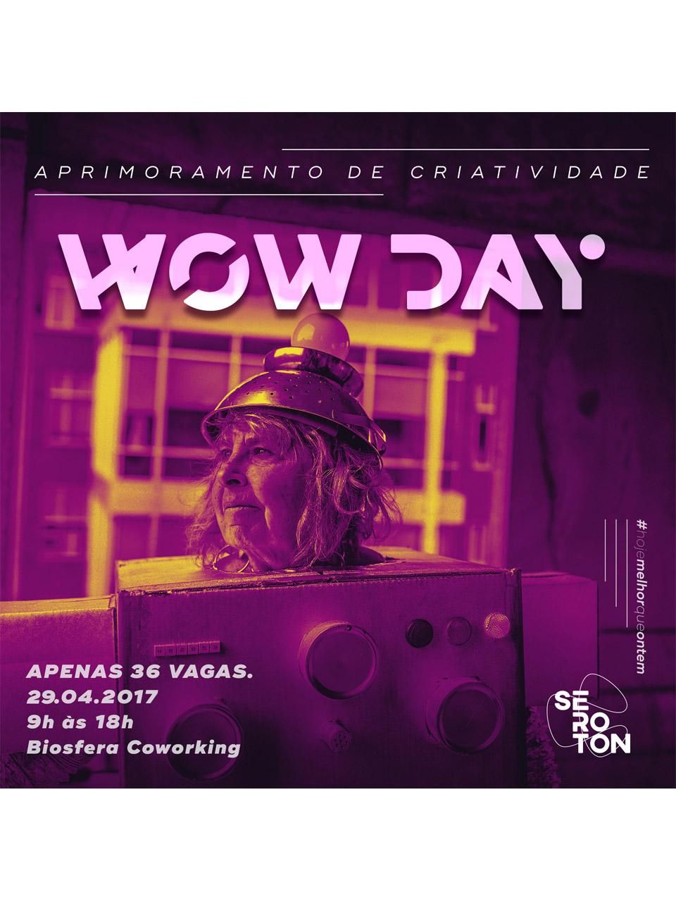 Palestra Wow Day Aprimoramento de Criatividade