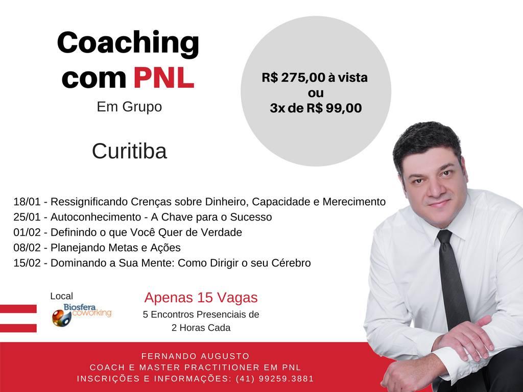 Coaching com PNL em grupo